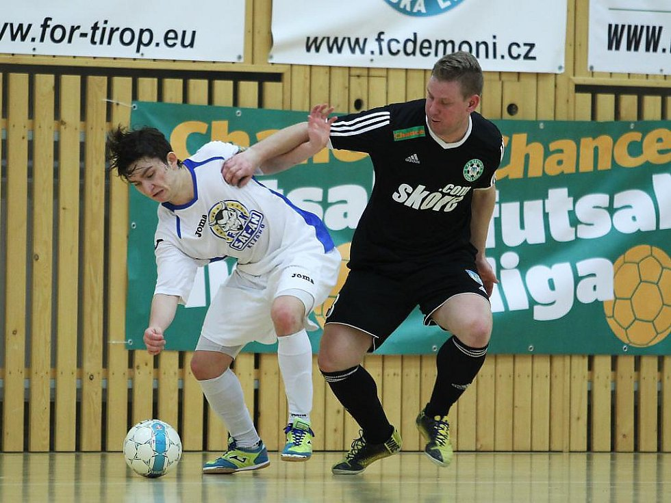 Démoni Česká Lípa - FK Kladno 1:8 (0:3).