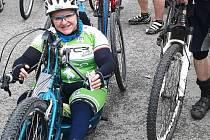 Velkého bike Maratonu Krkonošák v Lomnici nad Popelkou se na konci června zúčastnila také českolipská handbike závodnice Petra Hurtová.