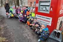 Děti z Mateřské školy Arbesova Česká Lípa.