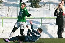 V přípravném utkání porazil českolipský Arsenal rezervu Baumitu Jablonec.