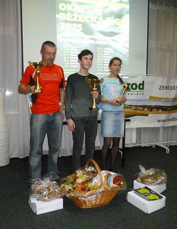 Vítězové OBL: 1.Jan Kopřiva (TJ Jiskra Nový Bor), 2.Jaroslav Jíra (Cyklorenova Cvikov), 3.Tereza Macháčková (TJ Doksy).