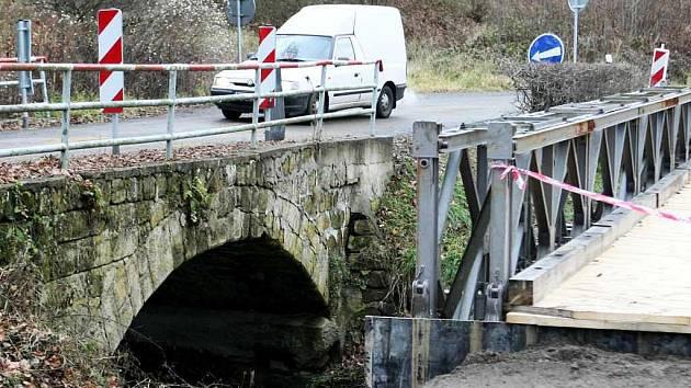 Velká voda v půlce prázdnin v roce 2010 narušila ve Skalici u České Lípy  asi polovinu ze zhruba dvaceti mostů.