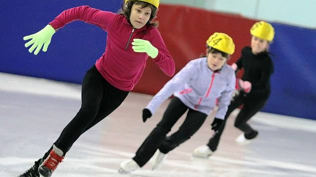 Zimních olympijských her dětí a mládeže se nesl také ve znamení rychlobruslení.