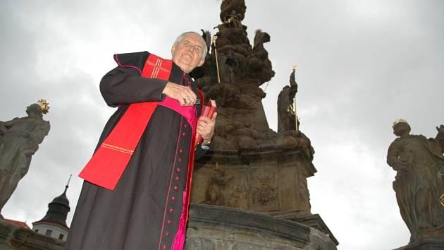 Litoměřický biskup Josef Koukl