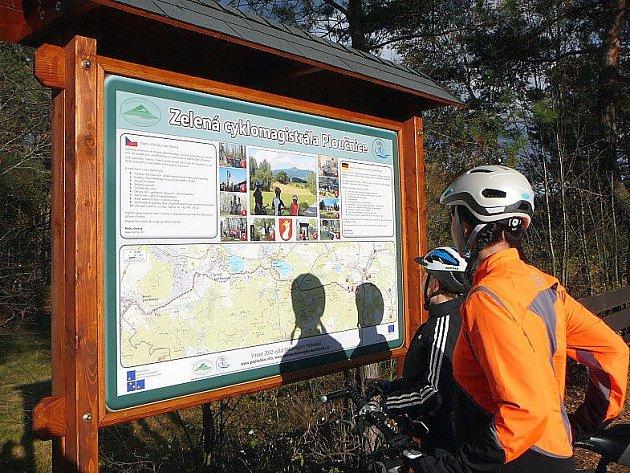 Cyklomagistrála má procházet napříč celým Českolipskem až do Děčína, kde se má napojit na cyklomagistrálu Labe.