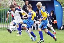 Mladší žáci českolipského Arsenalu porazili Rakovník 2:1.