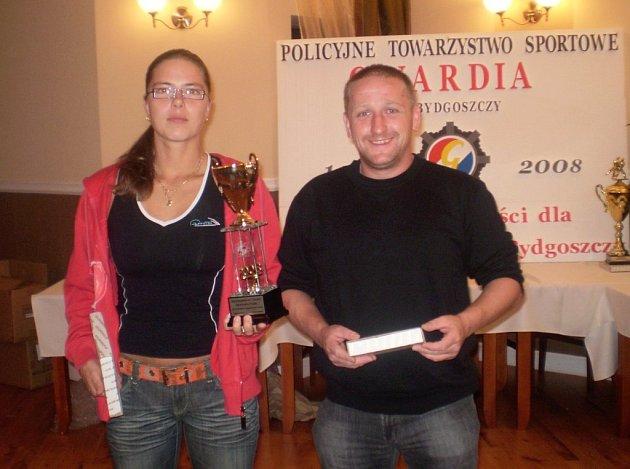 Trenéři Olga Jiroušová a Michal Vydra v Polsku.