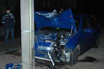 nehoda v Zákupech