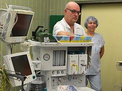 Nové přístroje pro anesteziology i nové operační stoly pořídila českolipská nemocnice za více než 10 milionů korun z evropské dotace.