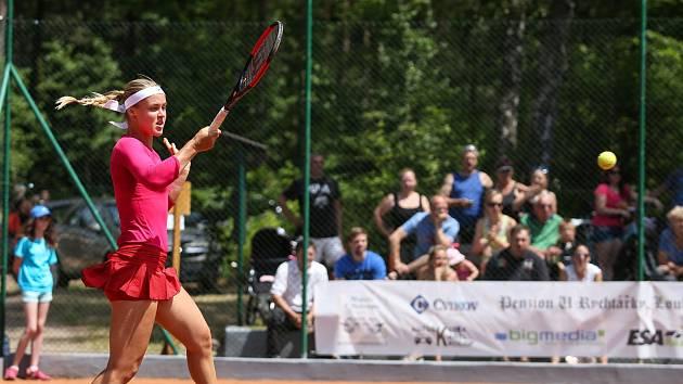 Mezinárodní ženský turnaj Mácha Lake Open ve Starých Splavech. Ilustrační fotografie.