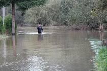 Povodně v Žandově.