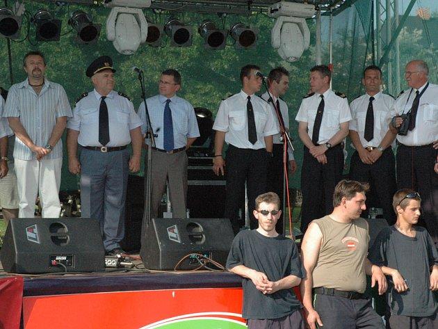 Oslavy hasičů v Novém Boru