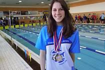 Čtyři medaile vybojovala v Kopřivnici Daryna Naboichenko.