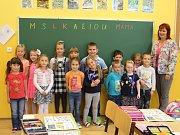 Žáci 1. A ze ZŠ Kamenický Šenov.