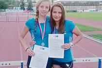 Kateřina Arltová a Markéta Bočková.