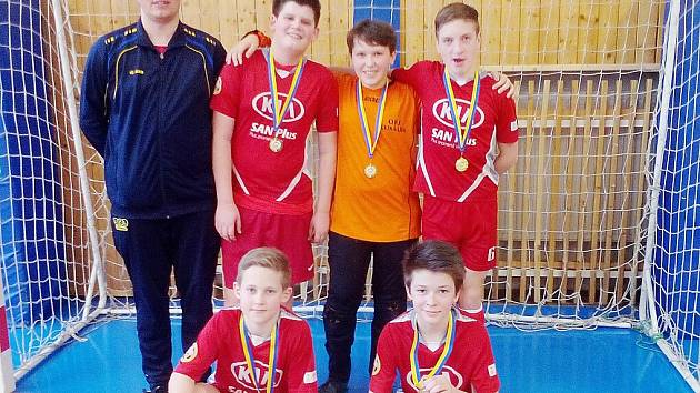 Mladší žáci Loko Česká Lípa vyhráli turnaj v Zákupech.
