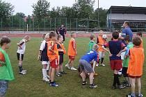Mladí fotbalisté z Českolipska se každoročně scházejí v Zákupech na fotbalovém campu.