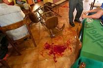 Traumatický zážitek si musely připomenout oběti tzv. mačetového útoku. U krajského soudu sledovaly záznam z napadení.