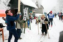 Na Silvestra se v Polevsku sešli běžkaři na Silvestrovský běh.