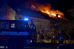 Požár v Mimoni.