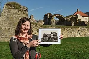 Šedesáté výročí odstřelení zámecké budovy připomněl hrad Lipý v sobotu během zahájení sezony.