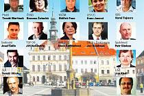 Zatímco před čtyřmi lety se do komunálních voleb v okresním městě hlásilo jen devět politických stran nebo hnutí, letos jich je čtrnáct.
