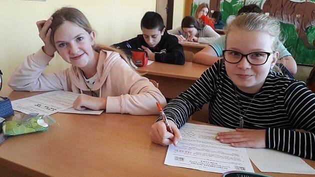 Čtvrtou matematickou soutěží, které se účastnila ZŠ Dubá a proběhla 21. ledna, byla Pythagoriáda.