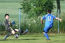Poslední zápas Doks ve Skalici (krajský přebor) skončil loni v červnu remízou 2:2.