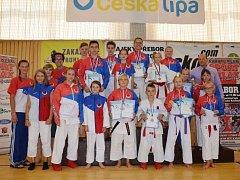 Tým Sport Relax vybojoval 28 medailí.