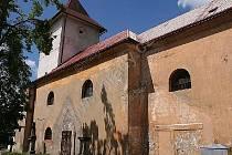 Kostel sv. Bartoloměje v Žandově.