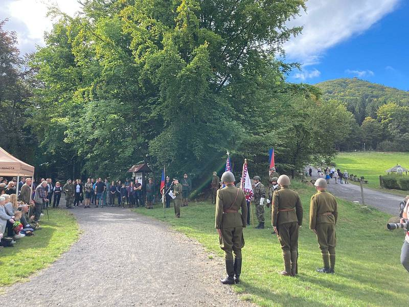 Lidé si v Lužických horách připomněli odpor proti nacistům.