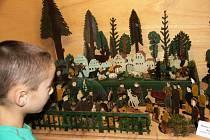 Výstava betlémů v Městském muzeu v Mimoni.