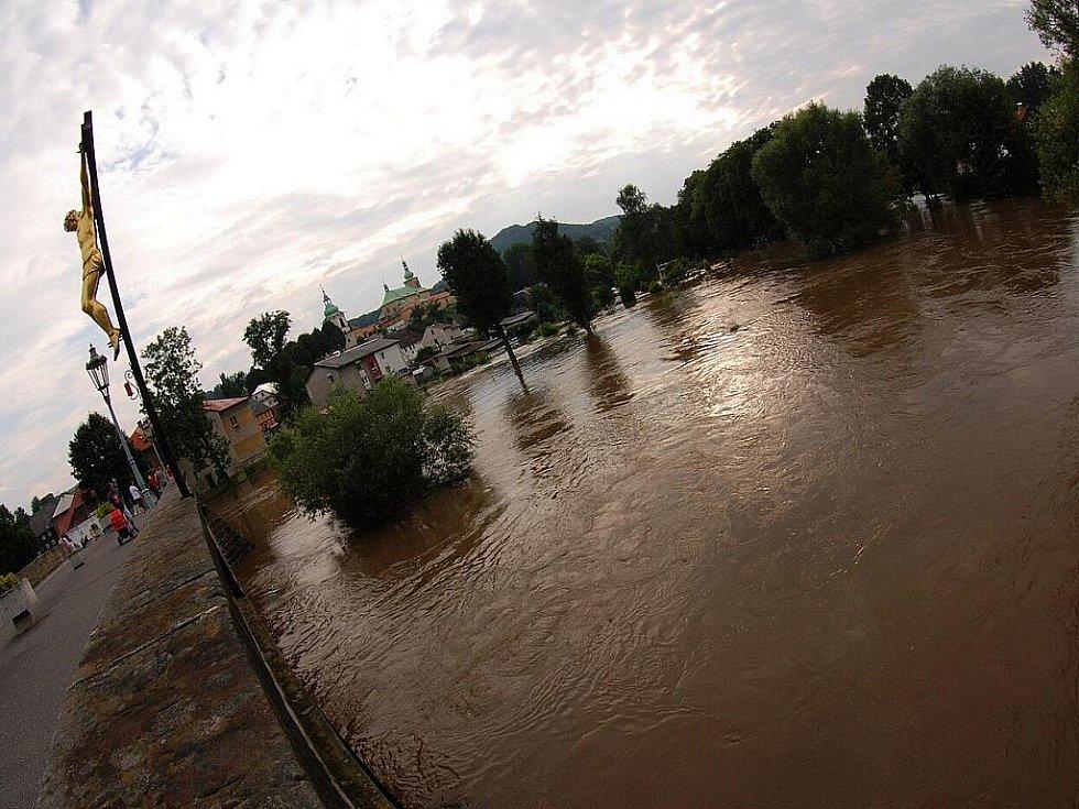 Povodně na Českolipsku – Horní Police.