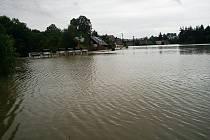 Povodně na Českolipsku – Jablonné v Podještědí.