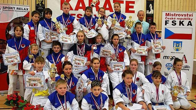 Vítězný klub MČR FSKA Sport Relax Česká Lípa.