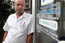 Primář libereckého onkologického centra MUDr. Jiří Bartoš.