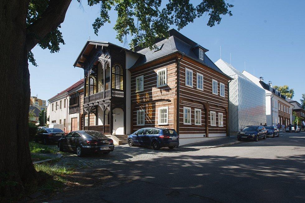 Sídlo společnosti Lasvit v Novém Boru.