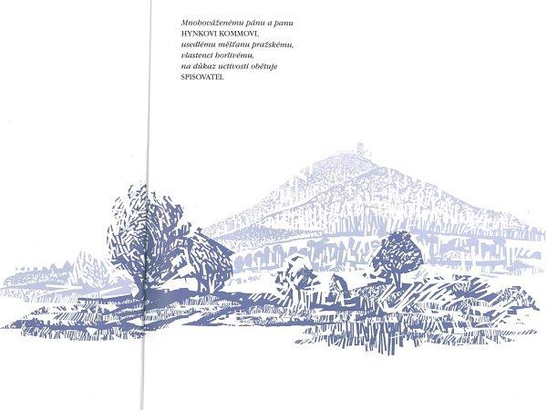 Nové vydání Máje doprovodil ilustracemi výtvarník Jiří Matula ze Sosnové uČeské Lípy.