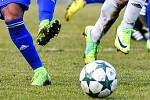 Fotbal, archivní fotografie.