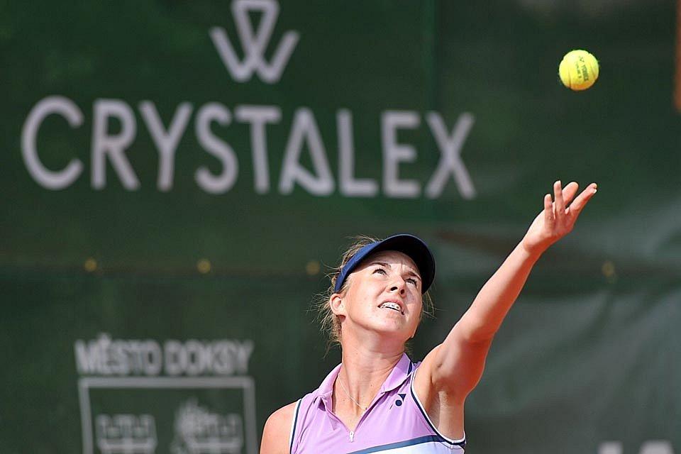 V Doksech se rozběhl tenisový turnaj Crystalex Mácha Lake Open.