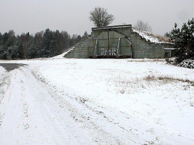 Bývalý vojenský výcvikový prostor v Ralsku.