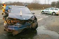Čtvrteční nehoda u Stráže pod Ralskem.