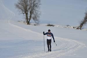 Běžkování na Polevsku v loňské sezóně