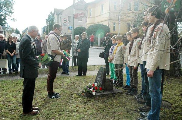 Veřejné setkání uLípy svobody na Slovance vČeské Lípě.