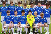 Starší žáci FK Stráž pod Ralskem.
