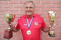František Just má svém kontě celou řadu úspěchů.