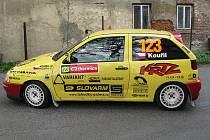 Martin Kouřil na Rally Thermica Lužické hory.