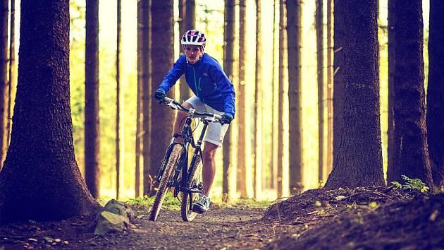 Trasy Singltreku zvládnou začátečníci a užijí si je i zkušení jezdci.