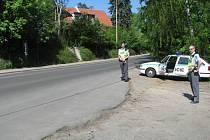 Policisté hlídali příjezdové komunikace na sídliště Slovanka zbytečně. Žádný z účastníků akce na ohlášený protestní pochod nedorazil.