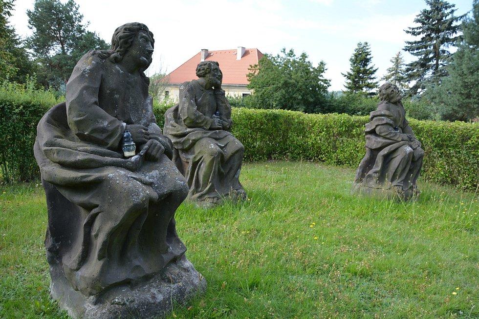 Getsemanská zahrada v Tuhani.